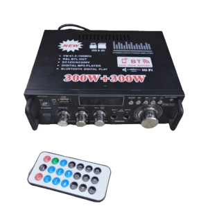 600w 12v Amplifier With Bluetooth