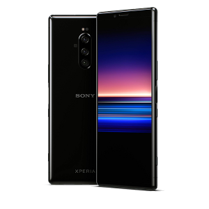 "Sony Xperia 1 Unlocked Smartphone 6.5"" 4K HDR OLED CinemaWide Display, 128GB - Black - (US Warranty)"