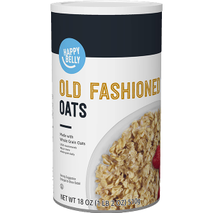 Happy Belly Old Fashioned Oats, 18 Ounce